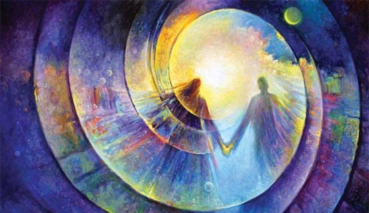 уравновесьте в себе полярные энергии: свет и тьму, мужское и женское, возрождение и умирание.